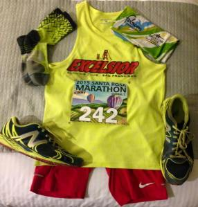 Pre-race layout photo, thought it was time I did one of these. Okay, now I never have to do it again!
