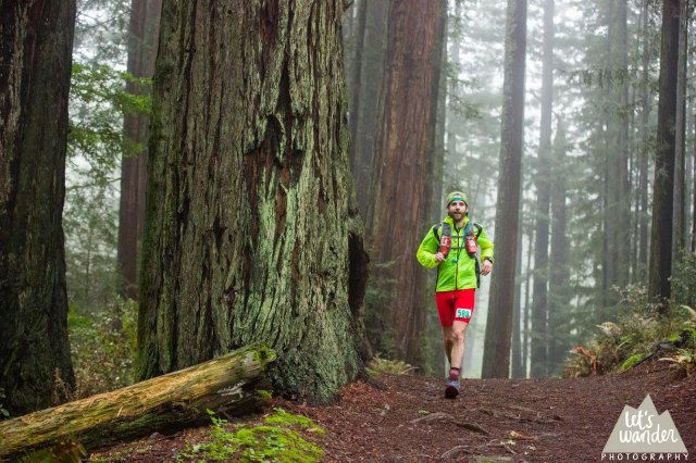 Choogling down through them redwoods (photo courtesy Jesse Ellis, Let's Wander Photography)